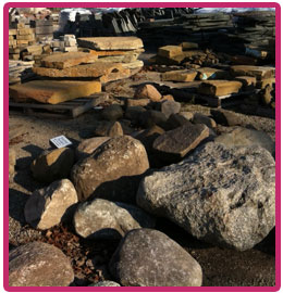 Newark Ohio landscape Stone, Gravel, Bolders